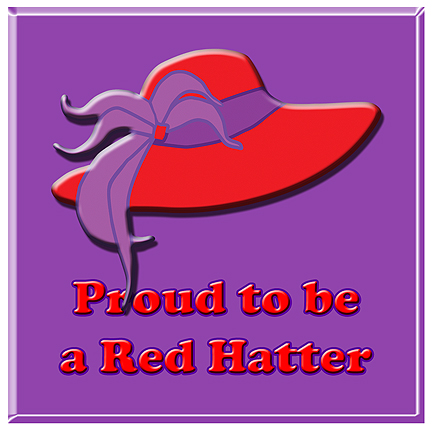 proud to be a red Hatter